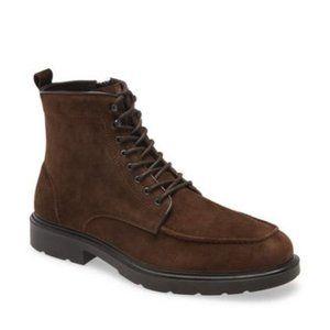 Nordstrom Janson Waterproof Moc Toe Boot Brown